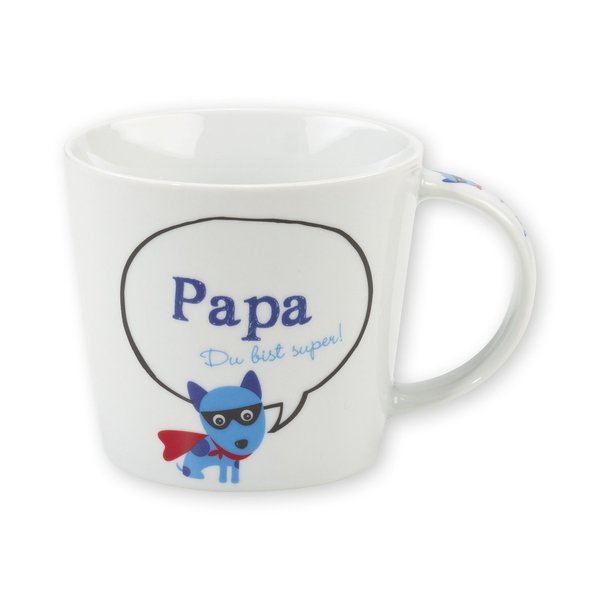 Sheepworld -  42710 - Tasse, Papa Du bist super!, Porzellan, 32 cl